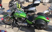 Zlot motocykli na skwerze Kościuszki w Gdyni