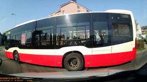 Wymuszenie przez autobus 269
