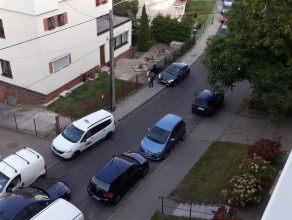 Ciasno na ul. Beniowskiego