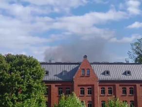 Czarny dym nad Wrzeszczem