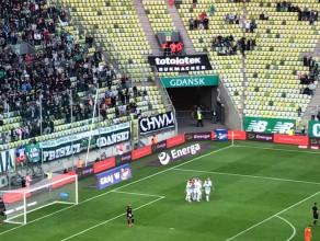Pierwszy gol w meczu Lechia - Zagłębie (3:3)