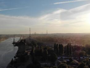 Pył nad Nowym Portem niepokoi mieszkańców