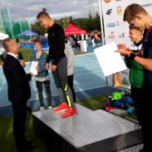 Wychowanek gdańskiej AWF wicemistrzem w skoku o tyczce U16