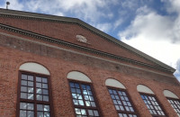 Zniknął wyświetlacz z budynku Filharmonii Bałtyckiej