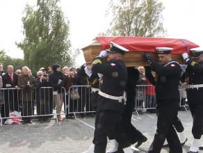 Pogrzeb Admirała Józefa Unruga w Gdyni