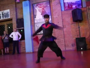 Kalanda tradycyjna Gruzińska kolacja Taniec dance Georgia Tbilisi Variustur