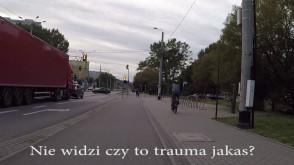 Najgorszy przykład rowerzysty