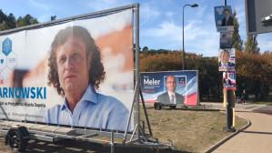 Brodwino zalały plakaty wyborcze