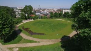 Punkt widokowy przy Zbiorniku Sobieski we Wrzeszczu