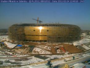 Stadion w Letnicy od pierwszego dnia budowy