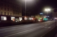 Tramwaje stoją Gdańsk Główny