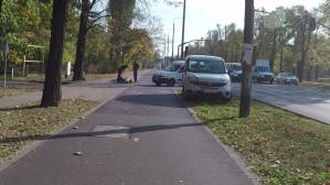 Groźne potrącenie rowerzysty na al. Zwycięstwa