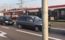 Dwie osoby ranne w zderzeniu tramwajów na...