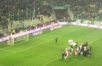 Piłkarze i kibice Lechii świętują