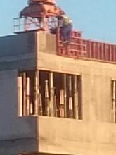 BHP na budowie szkoły w Wiczlinie