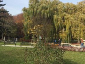 Spokojne południe w Parku Oruńskim