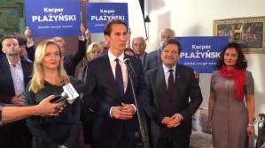 Przemówienie Kacpra Płażyńskiego po ogłoszeniu wyników wyborów