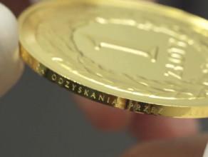 100. rocznica odzyskania przez Polskę niepodległości – moneta złota
