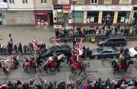 Husaria na Paradzie Niepodległości w Gdańsku