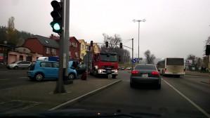 Wypadek na Trakcie św. Wojciecha