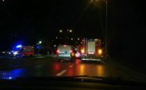 Wypadek na ulicy Czarny Dwór, w stronę...