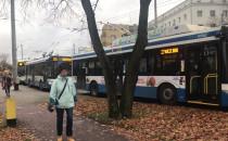 Autobusy nie kursują al. Zwycięstwa