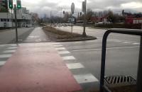 Kolizja dwóch aut na granicy Sopotu i Gdańska
