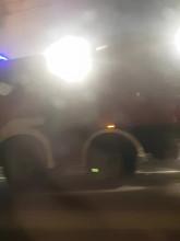 Janka Wiśniewskiego w Gdyni pożar kempingu