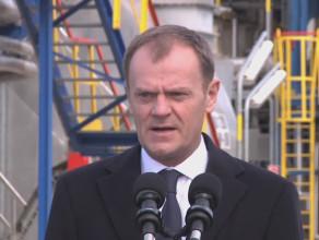Premier Tusk w rafinerii gdańskiej