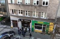 Skutki wjechania do biura na Abrahama w Gdyni