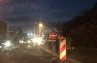 Godziny szczytu a na Kartuskiej - kładą asfalt