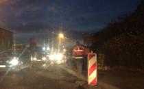 Godziny szczytu a na Kartuskiej kładą asfalt