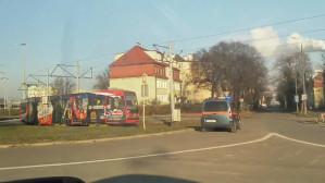 Awaria tramwaju przy Węźle Kliniczna