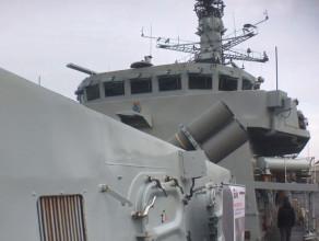 Zwiedzanie okrętu Royal Navy HMS Westminster w Gdyni