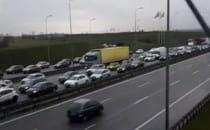 Trwa paraliż na obwodnicy w stronę Gdyni