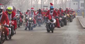 Mikołaje na motocyklach 2018