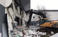 Rozpoczęła się rozbiórka kompleksu po starym Gemini w Gdyni
