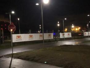 Sytuacja pod stadionem przed meczem Lechii z Legią