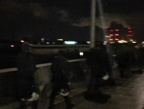 Pod stadionem przed meczem Lechia Legia