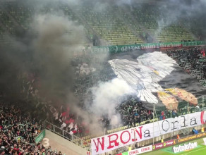Race ne meczu Lechia Legia