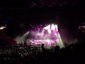 Hymn Polski podczas koncertu Rominy ...