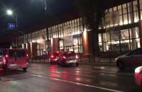 Mnóstwo policji przy Operze Bałtyckiej
