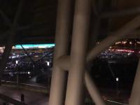 Korek pod stadionem 15 min przed meczem