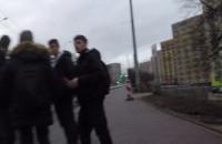 Krok od wypadku, bo w Gdyni ścieżki projektuje jakiś niedouk