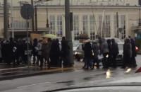 Protest przed Sądem Rejonowym w Gdyni