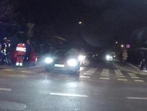 Wypadek trzech aut, GA wymusił pierwszeństwo