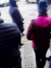 Protest przed Sądem Rejonowym Gdańsk-Południe