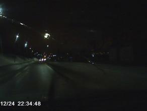 Kierowca z BMW nawet w Wigilię