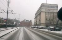 Dziś drogowcy wzięli urlop, centrum Gdańska białe
