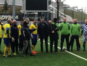 Mecz noworoczny 2019 piłkarzy w Gdyni